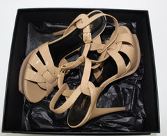 SAINT LAURENT TRIBUTE SANDALS SIZE 39.5