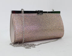 CHRISTIAN LOUBOUTIN PALMETTE SMALL EVENING CLUTCH - LuxurySnob