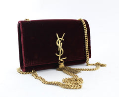 SAINT LAURENT  KATE TASSEL LOGO BAG