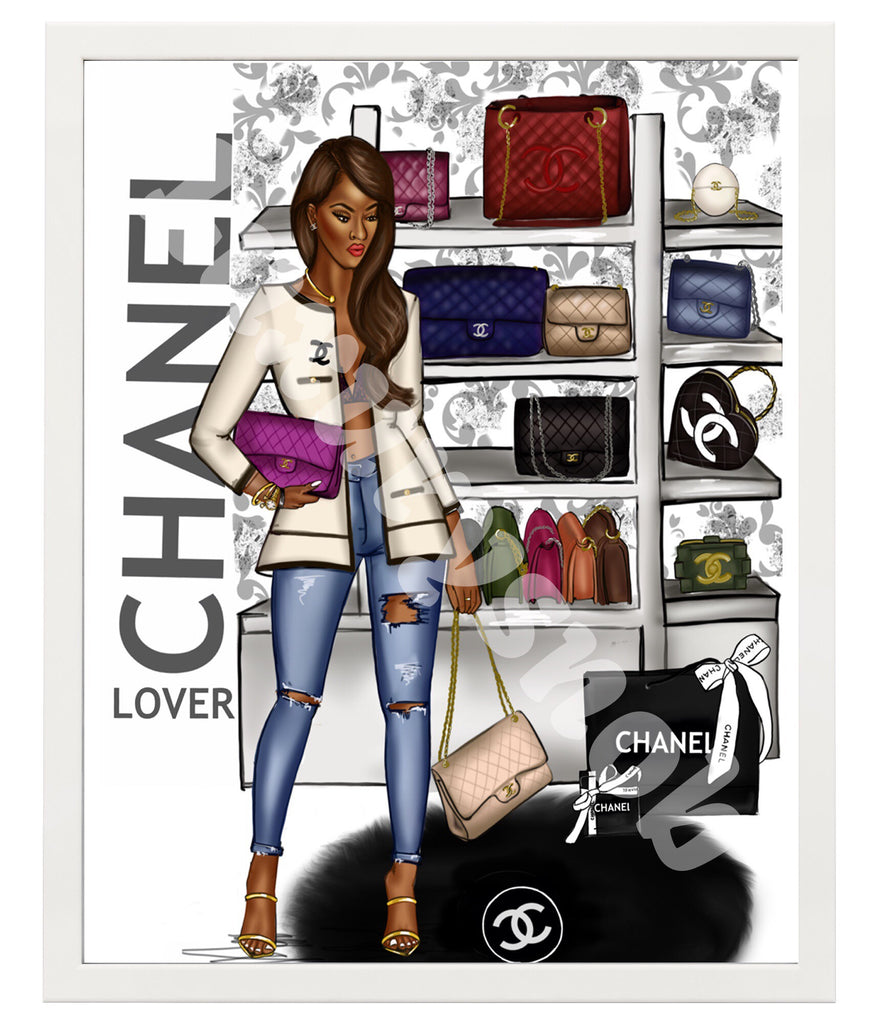 CHANEL LOVER POSTER 16 X 20 - LuxurySnob