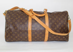 LOUIS VUITTON  KEEPALL BANDOULIÈRE 55