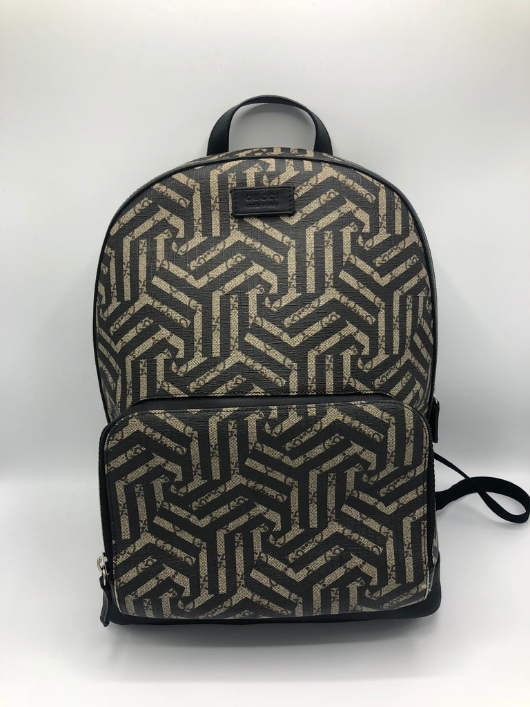 Gucci Caleido Supreme Canvas Leather Backpack