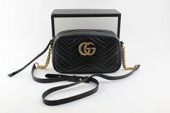 GUCCI GG MARMONT SMALL MATELASSÉ SHOULDER BAG