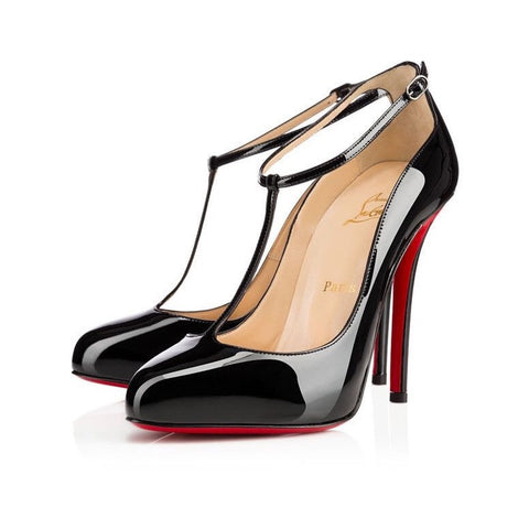 CHRISTIAN LOUBOUTIN TPOPPINS 100 MM SIZE 38.5
