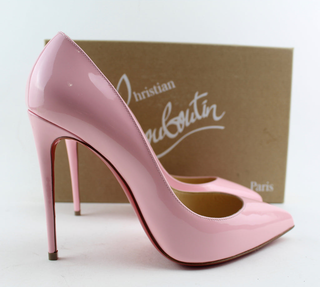 sports shoes 7bbcd 17c5b CHRISTIAN LOUBOUTIN PIGALLE FOLLIES 100MM SIZE 36.5