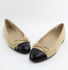 CHANEL BALLET FLATS SIZE 37.5