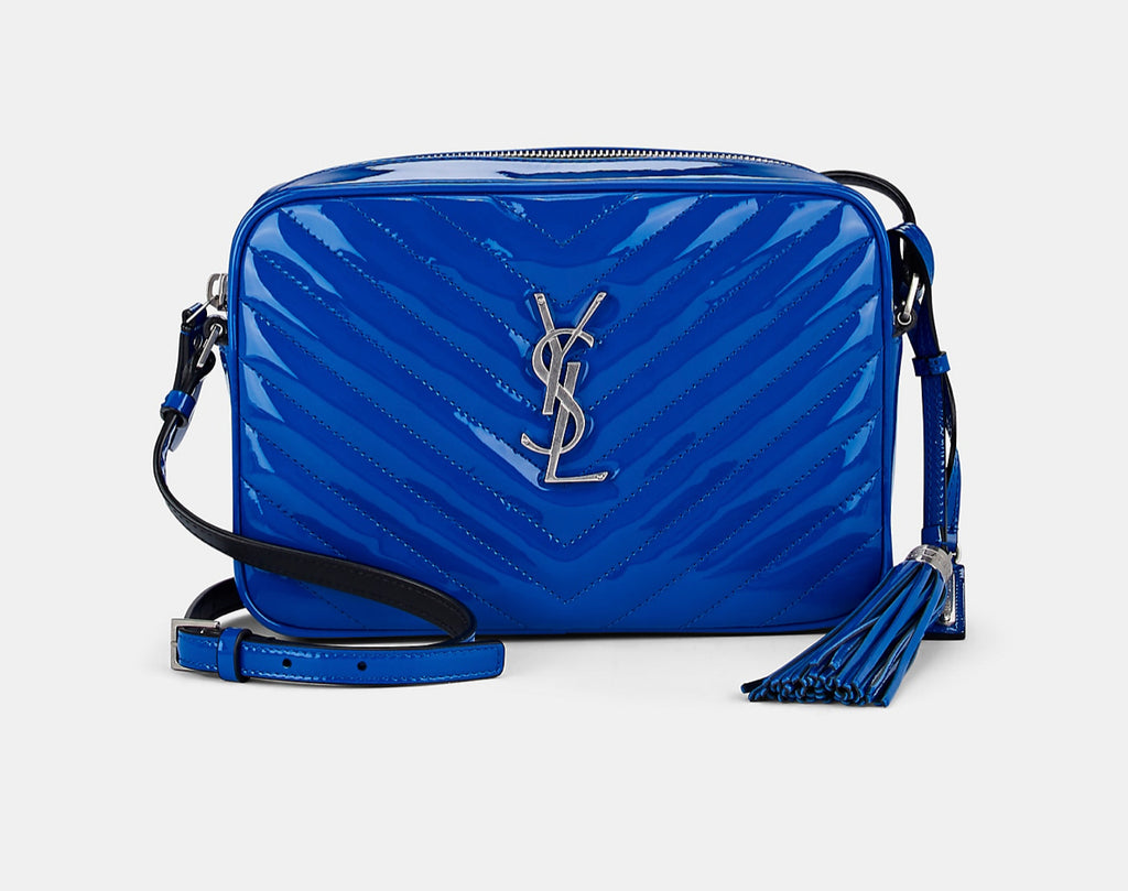 SAINT LAURENT LOULOU CAMERA CROSSBODY BAGS | LuxurySnob: pre owned luxury handbags, authentic designer goods second hand, second hand luxury bags, gently used designer shoes