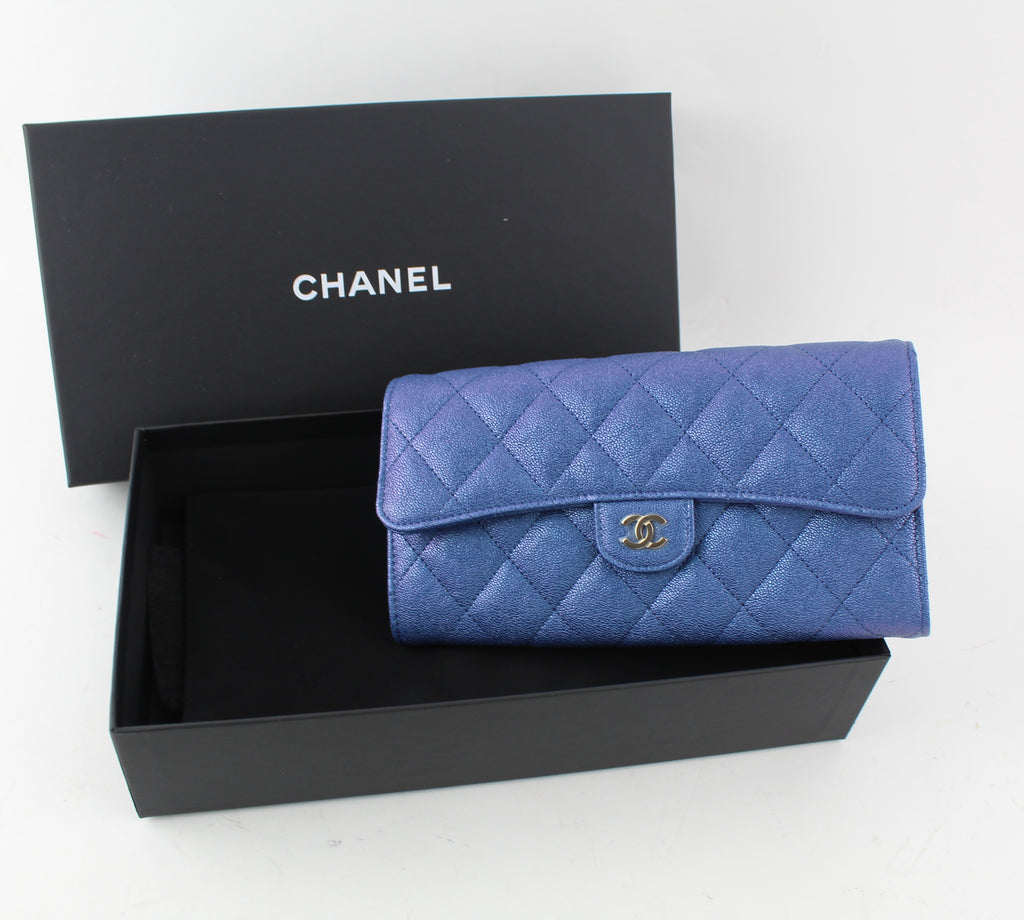 CHANEL CLASSIC FLAP WALLET - LuxurySnob