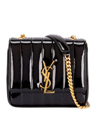 SAINT LAURENT VICKY MONOGRAM SMALL CROSSBODY BAG