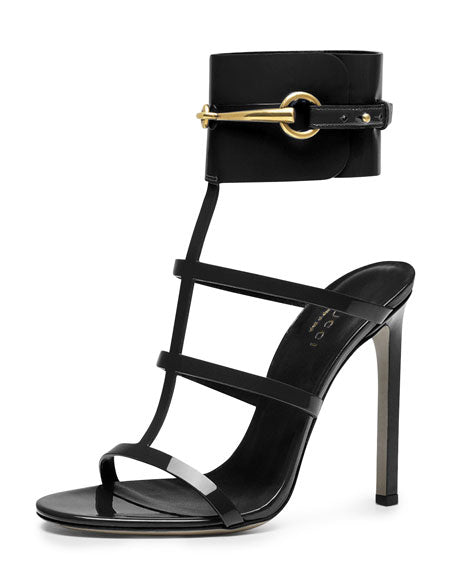 GUCCI URSULA ANKLE STRAP SANDAL SANDALS | LuxurySnob: pre owned luxury handbags, authentic designer goods second hand, second hand luxury bags, gently used designer shoes