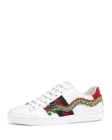 Gucci Ace Snake- Embroidered size 39