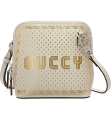 GUCCI SEGA LOGO MOON & STARS CROSS BODY BAG - LuxurySnob
