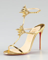 CHRISTIAN LOUBOUTIN LADY MAX 100mm SANDALS SIZE 41