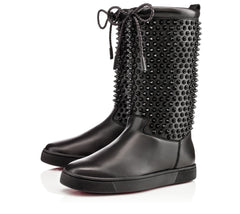 CHRISTIAN LOUBOUTIN SURLAPONY SPIKE BOOTS