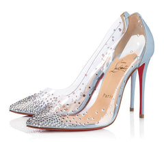 CHRISTIAN LOUBOUTIN DEGRASTRASS PVC 100MM SIZE 41