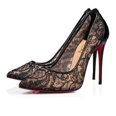 CHRISTIAN LOUBOUTIN Follies Lace 100 mm