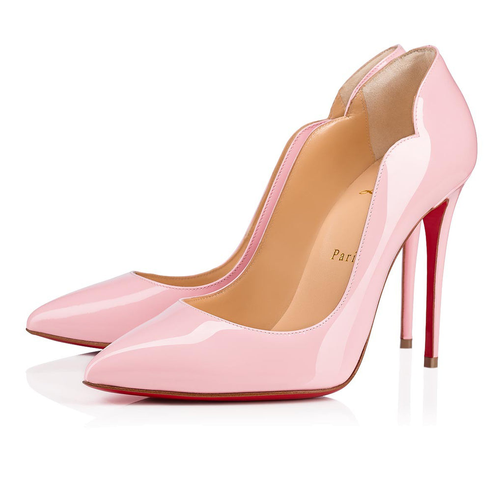 CHRISTIAN LOUBOUTIN HOT CHICK 100MM SIZE 40.5 PUMPS | LuxurySnob: pre owned luxury handbags, authentic designer goods second hand, second hand luxury bags, gently used designer shoes