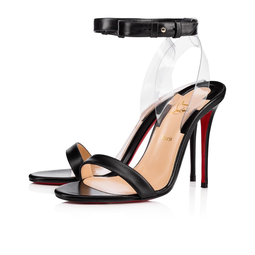 CHRISTIAN LOUBOUTIN JONATINA SANDALS | LuxurySnob: pre owned luxury handbags, authentic designer goods second hand, second hand luxury bags, gently used designer shoes