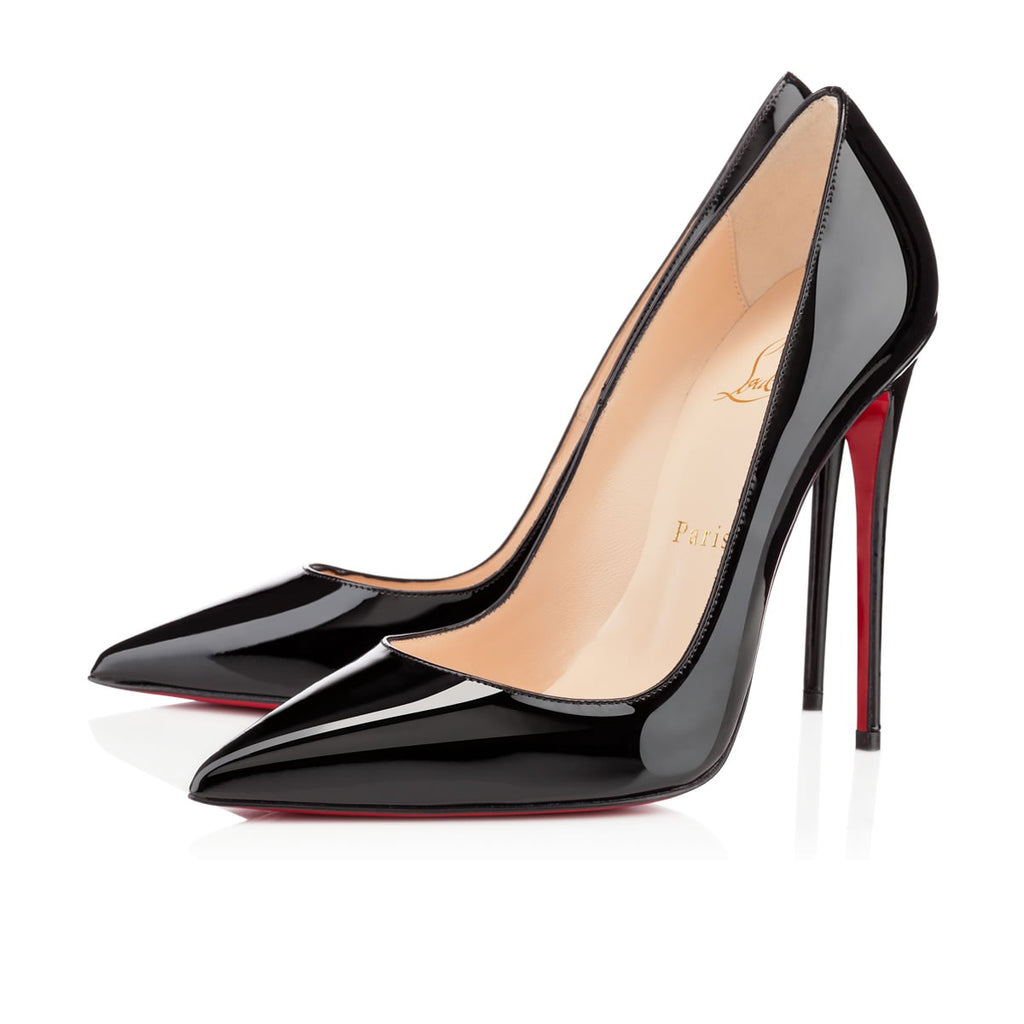 CHRISTIAN LOUBOUTIN SO KATE 120 SIZE 38 PUMPS | LuxurySnob: pre owned luxury handbags, authentic designer goods second hand, second hand luxury bags, gently used designer shoes