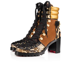 CHRISTIAN LOUBOUTIN WHO RUN 70MM BOOTS SIZE 38