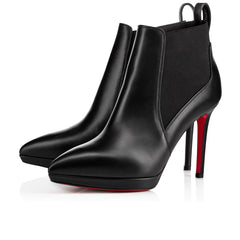 CHRISTIAN LOUBOUTIN CROCHINETTA 100mm size 39.5 BOOTS | LuxurySnob: pre owned luxury handbags, authentic designer goods second hand, second hand luxury bags, gently used designer shoes
