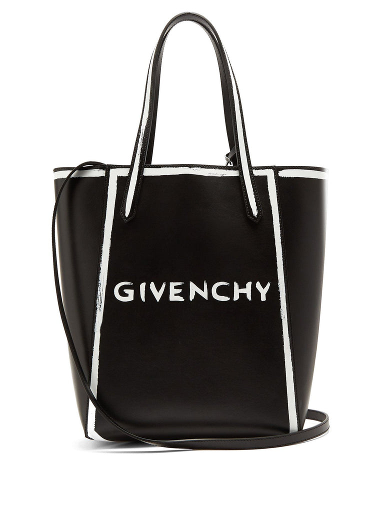GIVENCHY WOMEN'S STARGATE LEATHER TOTE BAG TOTE | LuxurySnob: pre owned luxury handbags, authentic designer goods second hand, second hand luxury bags, gently used designer shoes