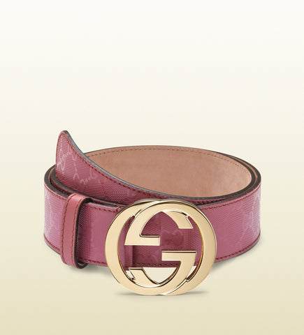 GUCCI CANVAS BELT SIZE 105""