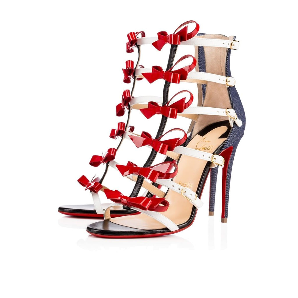 CHRISTIAN LOUBOUTIN GIRLISTRAPPI 100MM SIZE 41.5