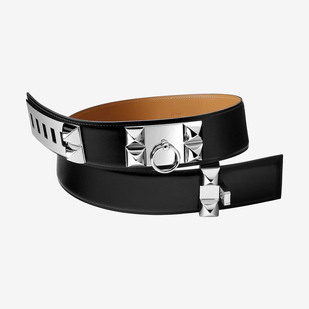 HERMES COLLIER DE CHIEN BELT ACCESSORIES | LuxurySnob: pre owned luxury handbags, authentic designer goods second hand, second hand luxury bags, gently used designer shoes