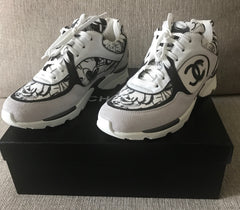 CHANEL SNEAKERS SIZE 38.5