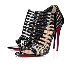 CHRISTIAN LOUBOUTIN CITY JOLLY CAGE SANDALS SIZE 40.5