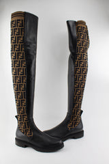 FENDI THIGH HIGH BOOTS SIZE 39