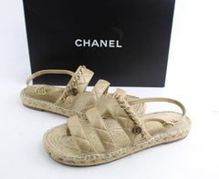 CHANEL SANDALS  SIZE 39
