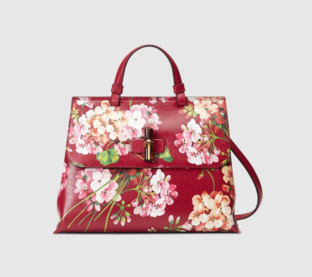 GUCCI BAMBOO DAILY BLOOMS TOP HANDLE