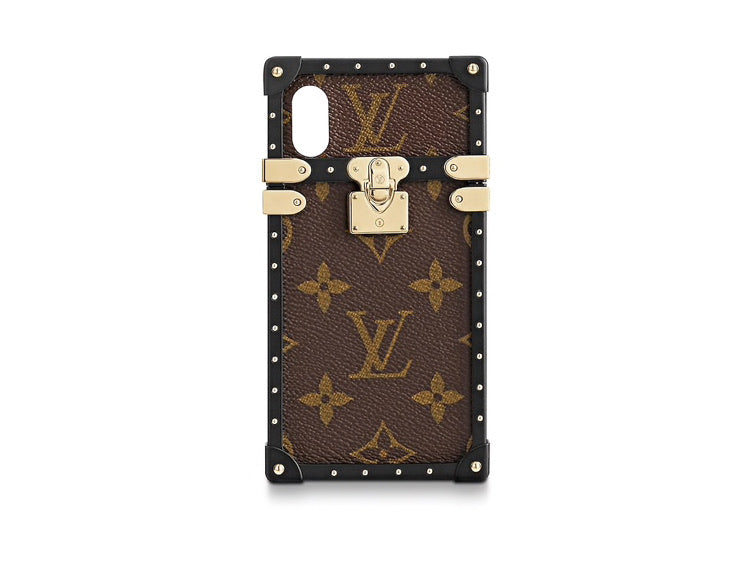 LOUIS VUITTON EYE TRUNK WITH STRAP IPHONE X/XS CASE