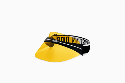 DIOR VISOR YELLOW