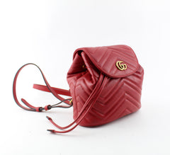 GUCCI GG MARMONT MATELASSE BACKPACK