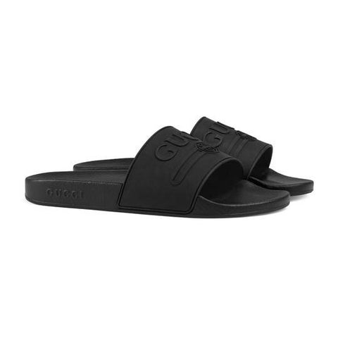 GUCCI SLIDES BLACK