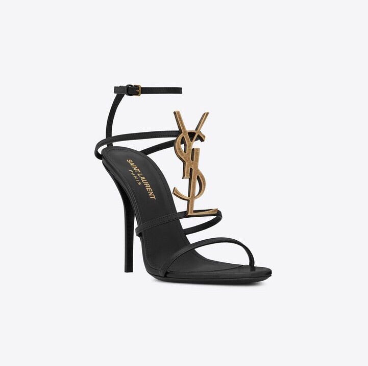 YSL CASSANDRA SANDALS SIZE 37 SANDALS | LuxurySnob: pre owned luxury handbags, authentic designer goods second hand, second hand luxury bags, gently used designer shoes