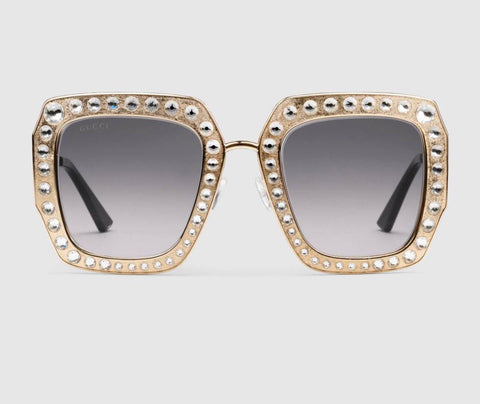 GUCCI OVERSIZED SQUARE FRAME