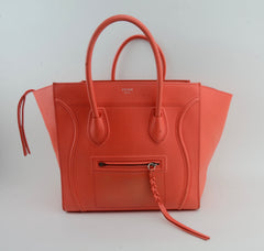 CELINE PHANTOM TOTE ORANGE