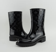 LOUIS VUITTON RAINBOOTS BLACK