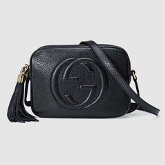 Gucci Soho small leather disco bag CROSSBODY BAGS | LuxurySnob: pre owned luxury handbags, authentic designer goods second hand, second hand luxury bags, gently used designer shoes