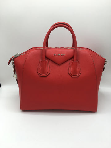 GIVENCHY MEDIUM ANTIGONA RED
