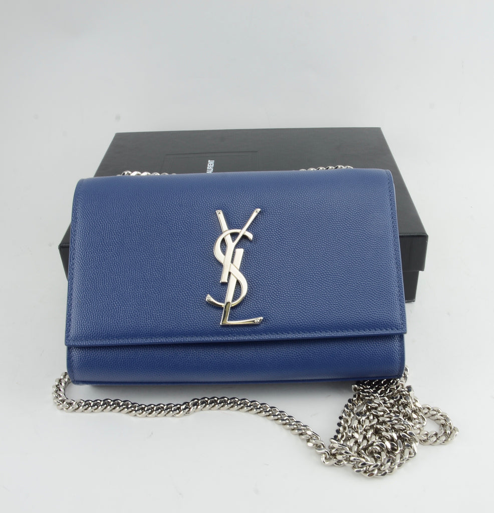 YSL KATE SMALL EMBOSSED LEATHER BAG