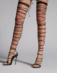 DSQUARED2 Riri Over-The-Knee Sandals