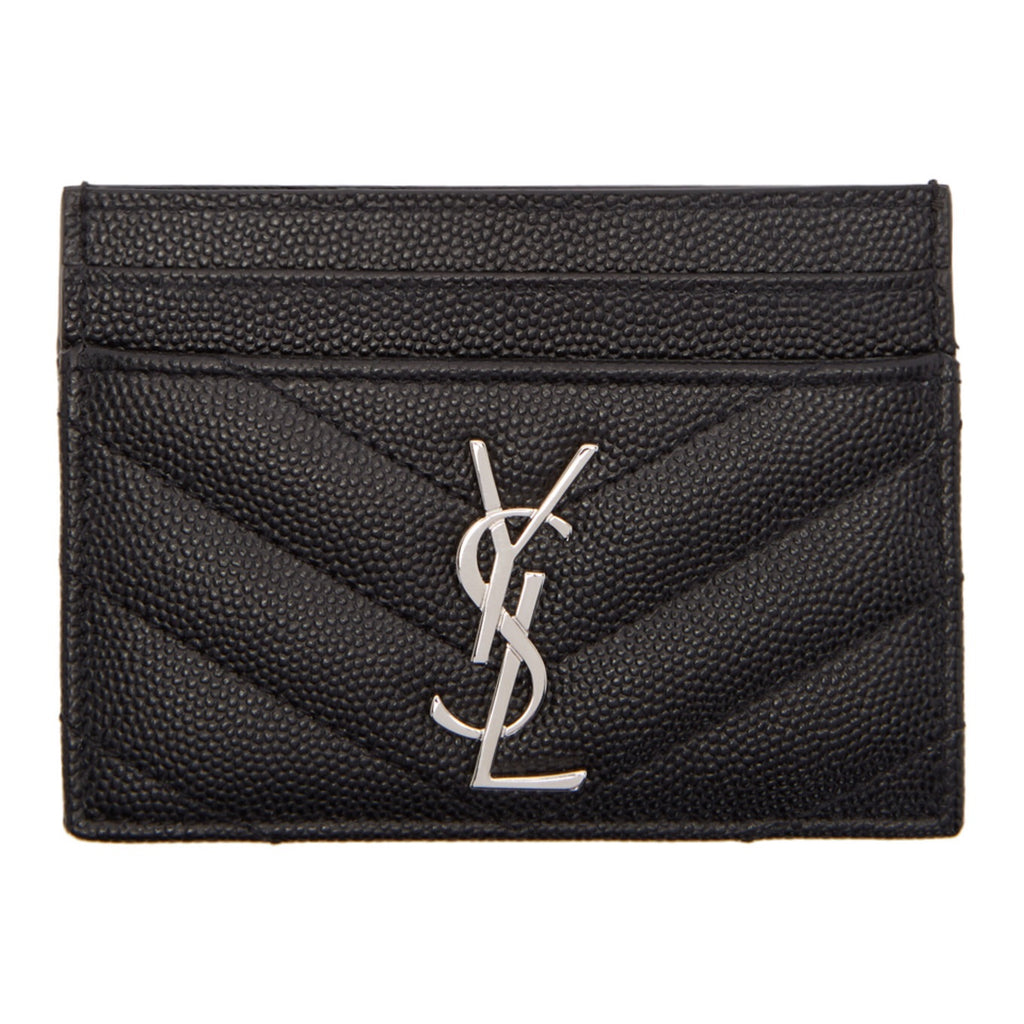 YSL MONOGRAM CARD HOLDER ACCESSORIES | LuxurySnob: pre owned luxury handbags, authentic designer goods second hand, second hand luxury bags, gently used designer shoes