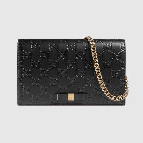 GUCCI SIGNATURE MINI BAG