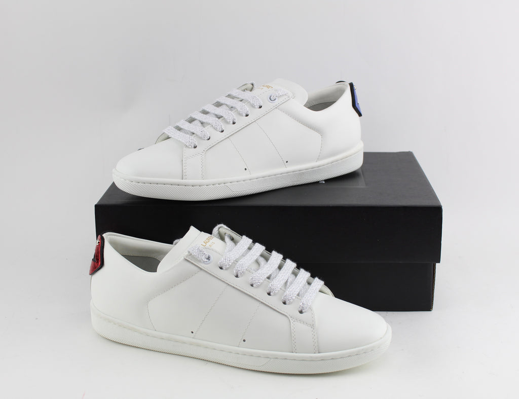 SAINT LAURENT WOMEN SNEAKERS SIZE 37.5 SNEAKERS | LuxurySnob: pre owned luxury handbags, authentic designer goods second hand, second hand luxury bags, gently used designer shoes