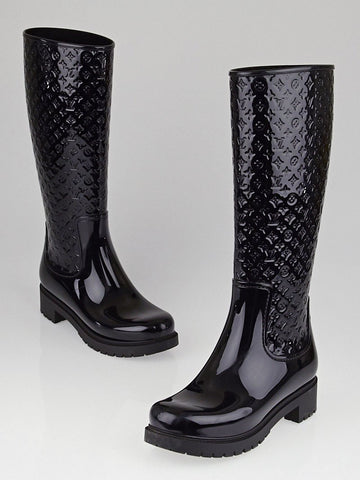 LOUIS VUITTON RAINBOOTS SIZE 37